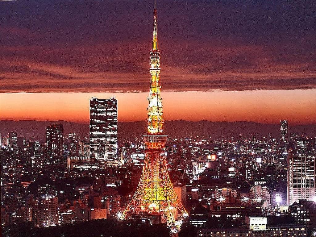 Menara Tokyo Jepang harga paket tour ke jepang 2016 murah harga paket tour ke jepang dari surabaya biaya paket tour ke jepang
