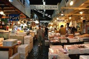 Pasar Tsukiji jepang liburan ke Jepang murah 2016 paket liburan ke jepang murah tips liburan ke Jepang murah biaya liburan ke Jepang murah liburan jepang murah