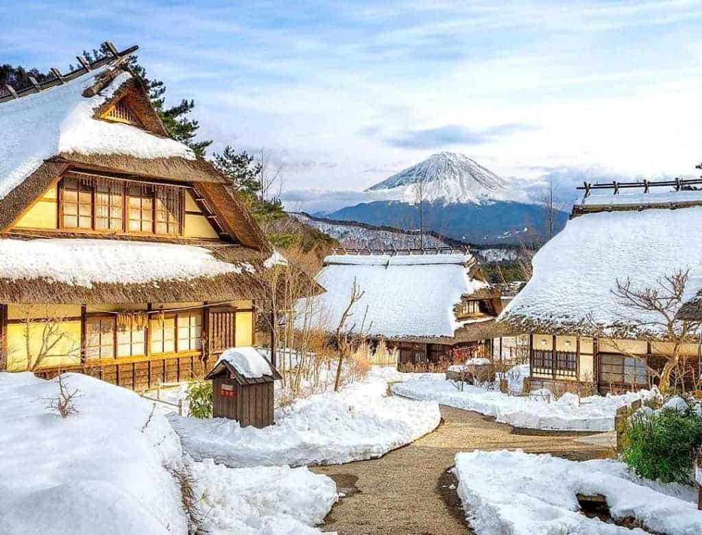 Paket Open Trip Tour Ke Jepang Autumn 28 November – 3 Desember 2018 yashi no Sato